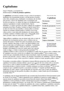 Capitalismo – Wikipédia  a enciclopédia livre