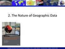2. The Nature of Geographic Data
