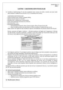 Gastro   Carcinoma Hepatocelular
