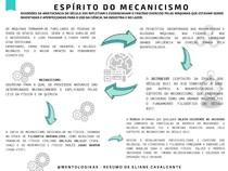 ESPIRITO DO MECANICISMO