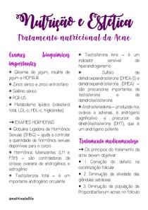 Tratamento nutricional da Acne