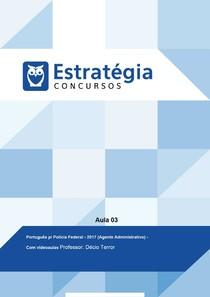 Aula 03 - Português p/ Polícia Federal PDF