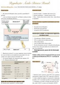 Regulação ácido-básico renal