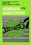 J.P. Cole. Geografia Quantitativa, IBGE, 1972
