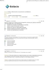 Implantação e Avaliação de Tec. da Info AV
