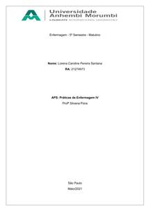 APS - Práticas de Enfermagem IV
