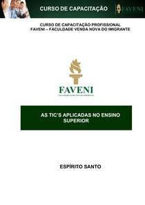 AS TICS APLICADAS NO ENSINO SUPERIOR 1