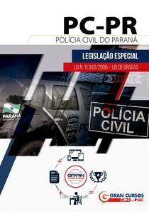 Legislação Especial Lei N.11343/2006 - Lei de Drogas - Polícia Civil