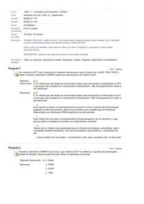 ASSISTÊNCIA FARMACÊUTICA Avaliação On-Line 5 (AOL 5) - _