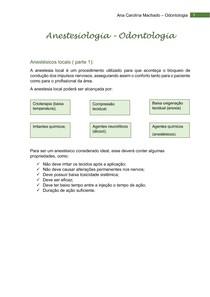 Anestesiologia resumo