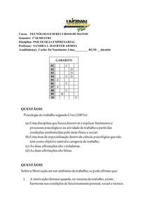 atividade59877 psicologia empresarial
