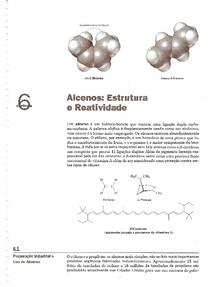 Capítulo 6 - Alcenos - Estrutura e Reatividade