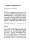 O behaviorismo radical e a psicologia como ciência