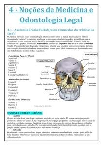 Noções de Medicina Legal - Anatomia