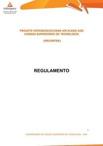Apostila Deivid Provas 021 PROINTER II Regulamento Prointer 2017_02