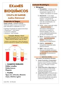 Exames Bioquímicos: Análise Nutricional