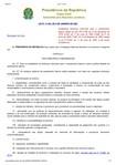 Lei 11.445 - Diretrizes Nacionais Saneamento Básico