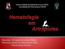 Hematofagia por artrópodes
