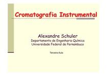 Aula 3 (Cromatografia líquido líquido   o aparelho de Craig)