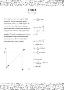 Física I - Área 1 - Lista 1 - 26
