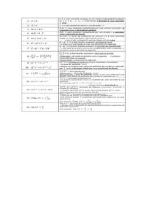 lista de derivação