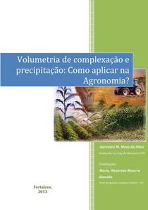NOVA - Volumetria de Complexação e Precipitação - Editada 2 - em PDF