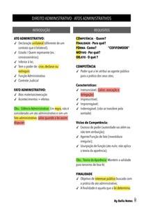 Direito Administrativo - Atos Administrativos - Resumo