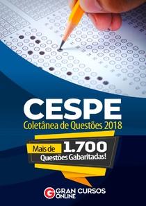 Seleção de Questões CESPE   2018   Atualizado