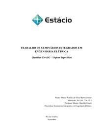 Seminários Integrados a Engenharia - Seminários Integrados em - 3 ee0e295963
