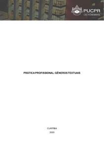 ATP -PRÁTICA PROFISSIONAL GÊNEROS TEXTUAIS