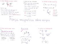 [FÍSICA] Resumo_Força Magnética sobre cargas