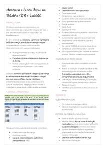 Anamnese e Exame Fisico em Pediatria