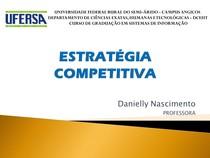 3 Estratégia Competitiva