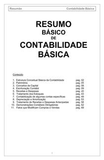 AULA DE CONTABILIDADE BÁSICA (RESUMO)