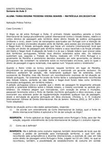 INTERNACIONAL SEMANA 3 - RESPOSTA