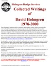 Holmgren - collected writings index