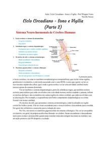 Transcrição_ Ciclo Circadiano - Sono e Vigília