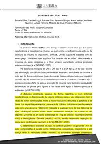 INTERDISCIPLINAR DIABETES MELLITUS TIPO 1