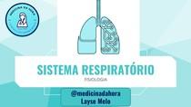 Sistema respiratório - Tutoria - Resumo