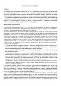 DISTÚRBIOS HEMODINÂMICOS   2 - EMBOLIA