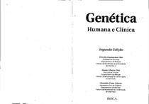 OTTO, P.G. Genética humana e clínica