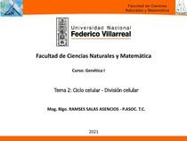 Tema 2 - Genética I
