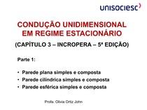 CONDUCAOUNIDIMENSIONALEMREGIMEESTACIONARIOPARTE1