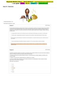 Aula 14 - Exercício_ Ética e Bioética em Saúde (on-line)