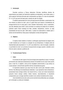 Relatorio   Fisica 3   Calorimetria