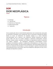 Dor Neoplásica