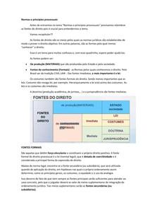 Normas e princípios processuais