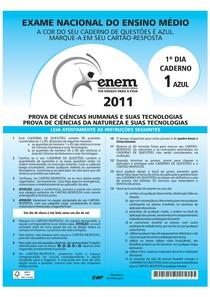 be2173e1a79 ENEM 2011 primeiro dia - Provas - 8
