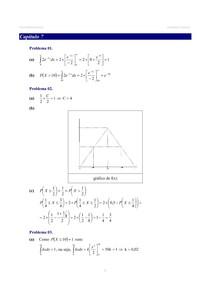 Livro Estatística Básica (Bussab e Morettin) GABARITO - Capítulo 7