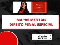 Mapas mentais: Lei Maria da Penha